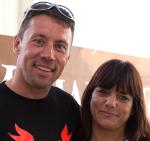 Fabio Rochelli e Daniela Semec