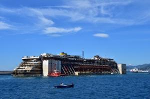 Costa Concordia a Genova
